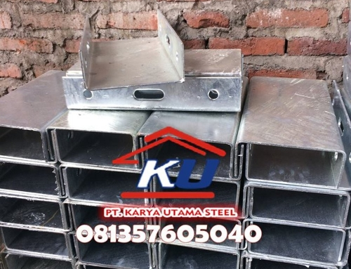 Jual Guardrail Murah Ready Stock Tebal 4,5mm Galvanis Hotdeep Tahan Hujan