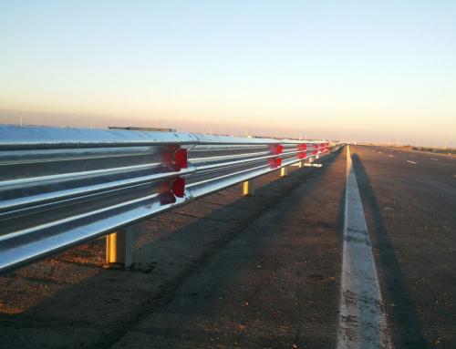 Jual Guardrail Pengaman Jalan Tebal 4,5mm Untuk Jalan Raya Dan Jalan Biasa